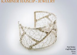 Nest Series jewelry line was inspired by the woven texture of a bird's nest.
