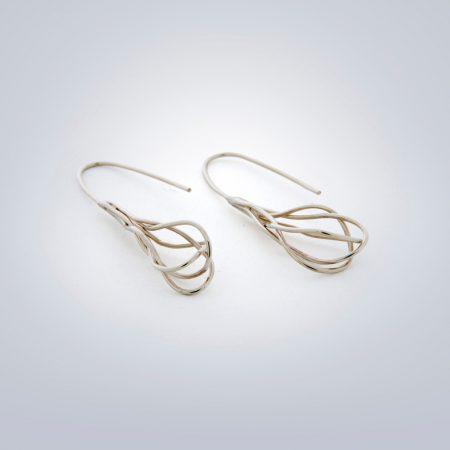 Twisted-earrings