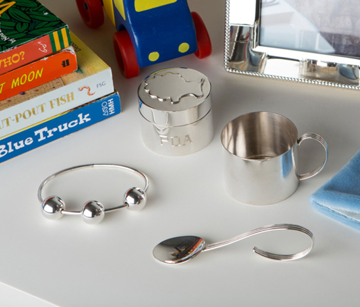 silver baby gifts