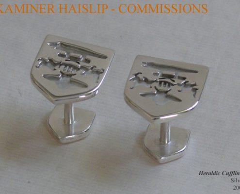 cufflinks heraldic crest cufflink commissions bespoke design