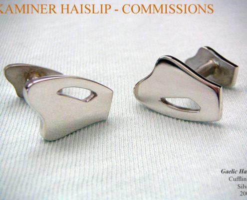 cufflinks gaelic harp cufflink custom design