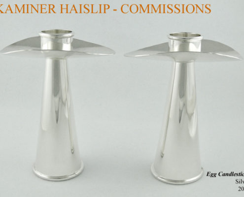 silver candlesticks commissions custom design