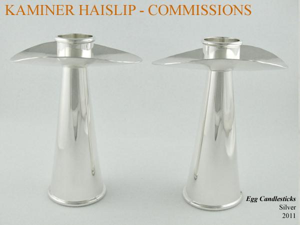 silver candlesticks commissions custom design