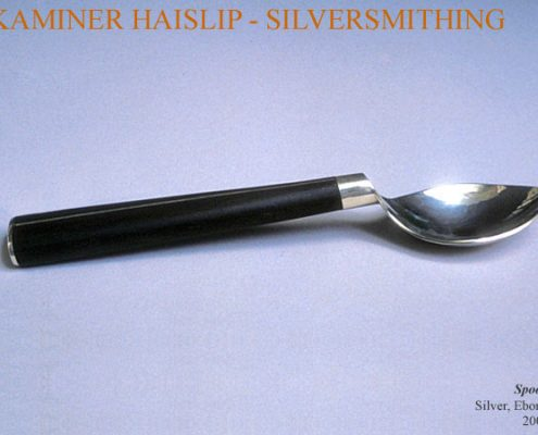 spoons silver ebony spoon