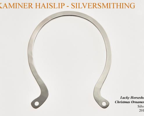 lucky horseshoe christmas ornament