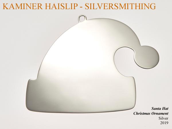 santa hat christmas ornament