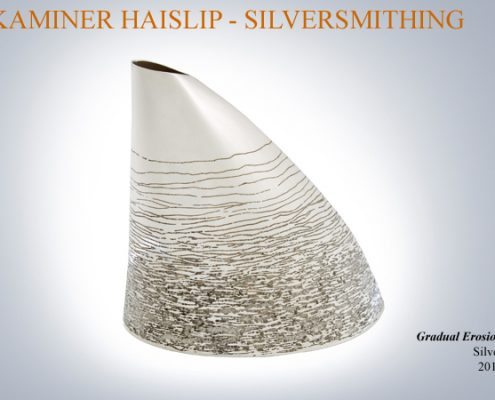 silver vase handcrafted vases