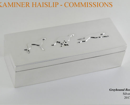 silver box commissions greyhound design boxes