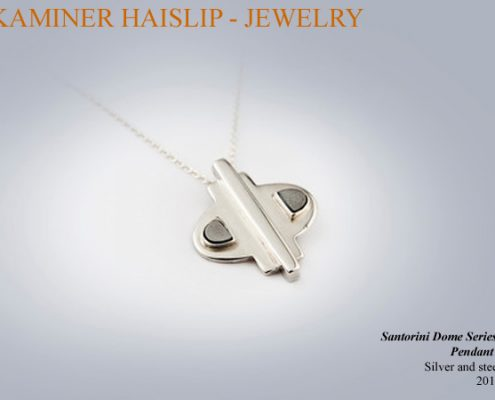 necklaces santorini pendant silver jewelry