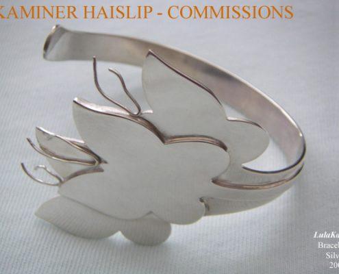 bracelets butterfly silver cuff bracelet commissions