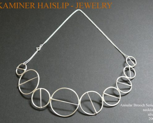 necklaces annular brooch necklace