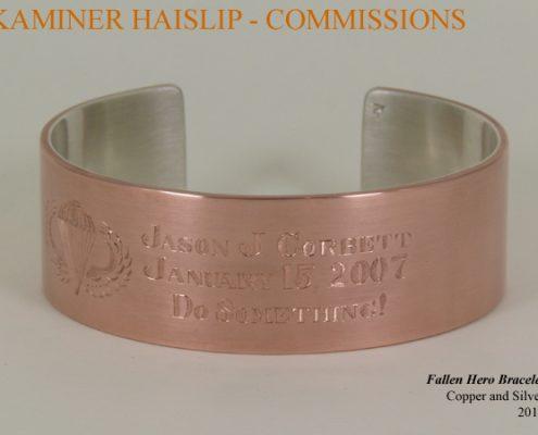 copper bracelet custom commissions