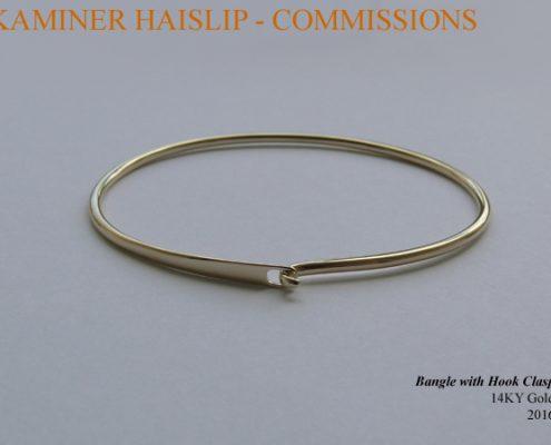 bracelets 14k yellow gold bangle bracelet commissions