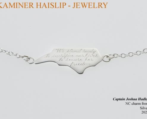 north carolina hand engraved