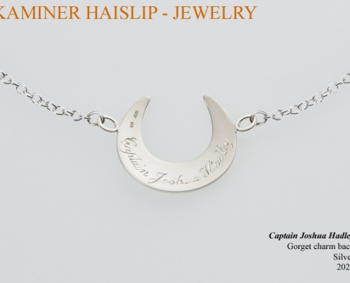 gorget hand engraved