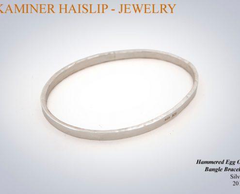 bracelets egg design bracelet hammered silver bracelet