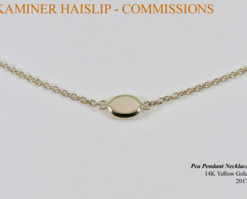 14k yellow gold necklace commissions