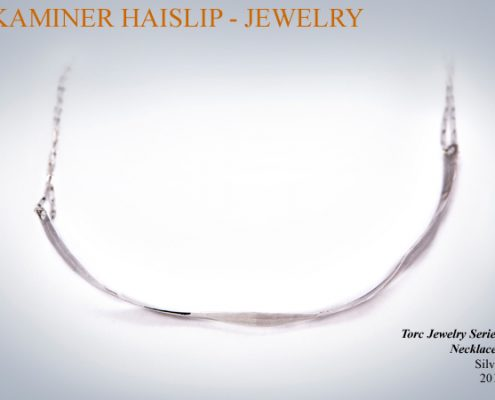 torc jewelry hammered silver jewelry