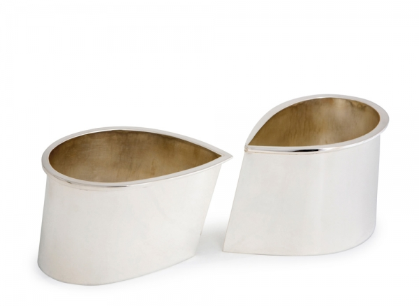 silver cream and sugar set