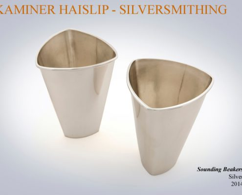 bar accessories silver beaker silver cup