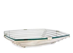 silver tray