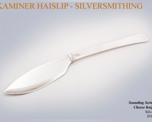 silver cheese knife