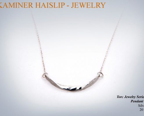 necklaces hammered silver pendant