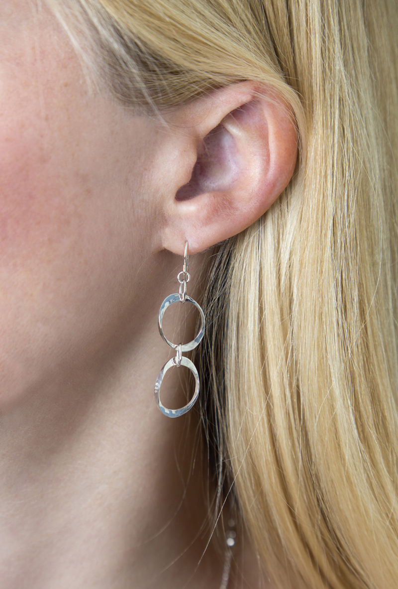 Torc Link Earrings