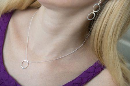 Torc Link Earrings & Torc Pendant III