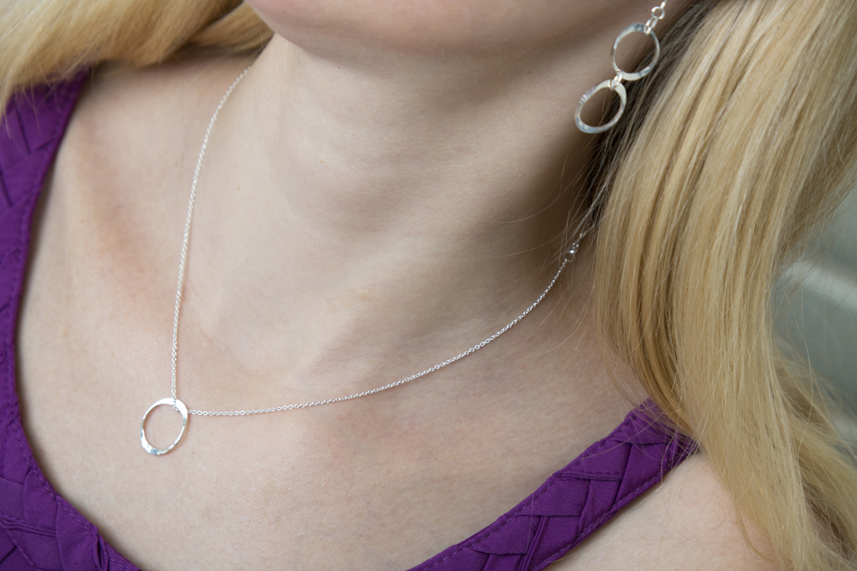 Torc Link Earrings & Torc Pendant III