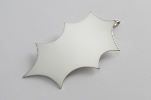 holly leaf christmas ornament