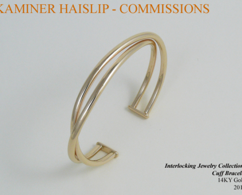 interlocking gold cuff bracelet gold jewelry commissions
