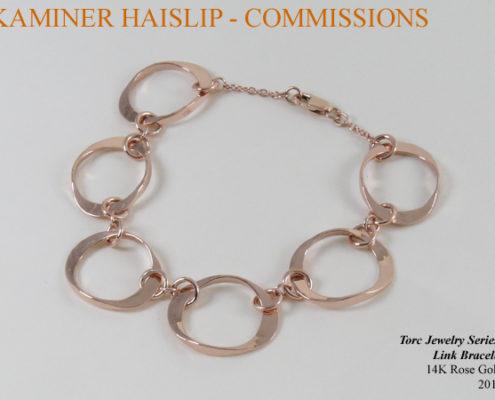 bracelets rose gold bracelet commissions
