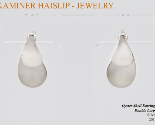 oyster jacket earrings