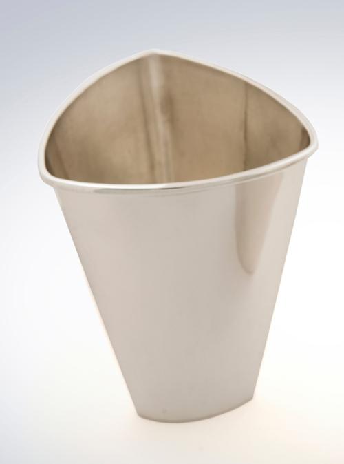 silver beaker cup tumbler tabletop design product design