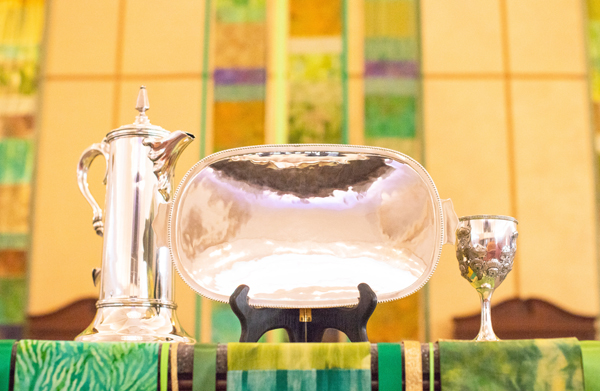 church communion tray commission custom design flagon chalice