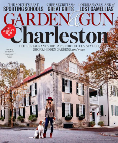 garden & gun charleston sc anniversary issue arts in charleston