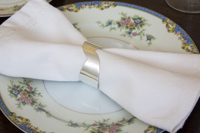 silver napkin ring tabletop design use your silver silver wedding gifts