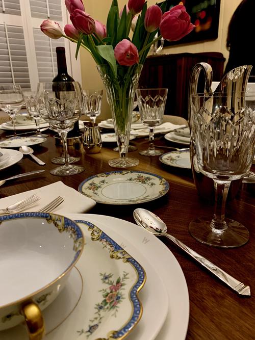 silverware tabletop design modern silver
