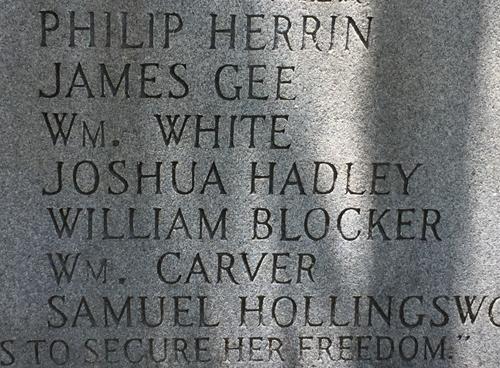 american revolution monument