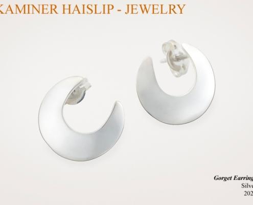 gorget earrings